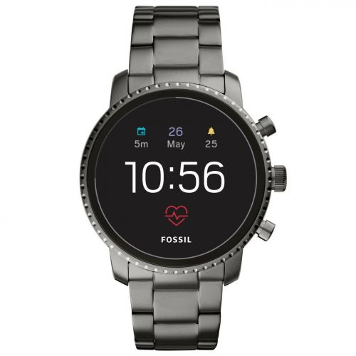 Orologio Smartwatch Uomo Fossil Q Explorist FTW4012 GEN 4