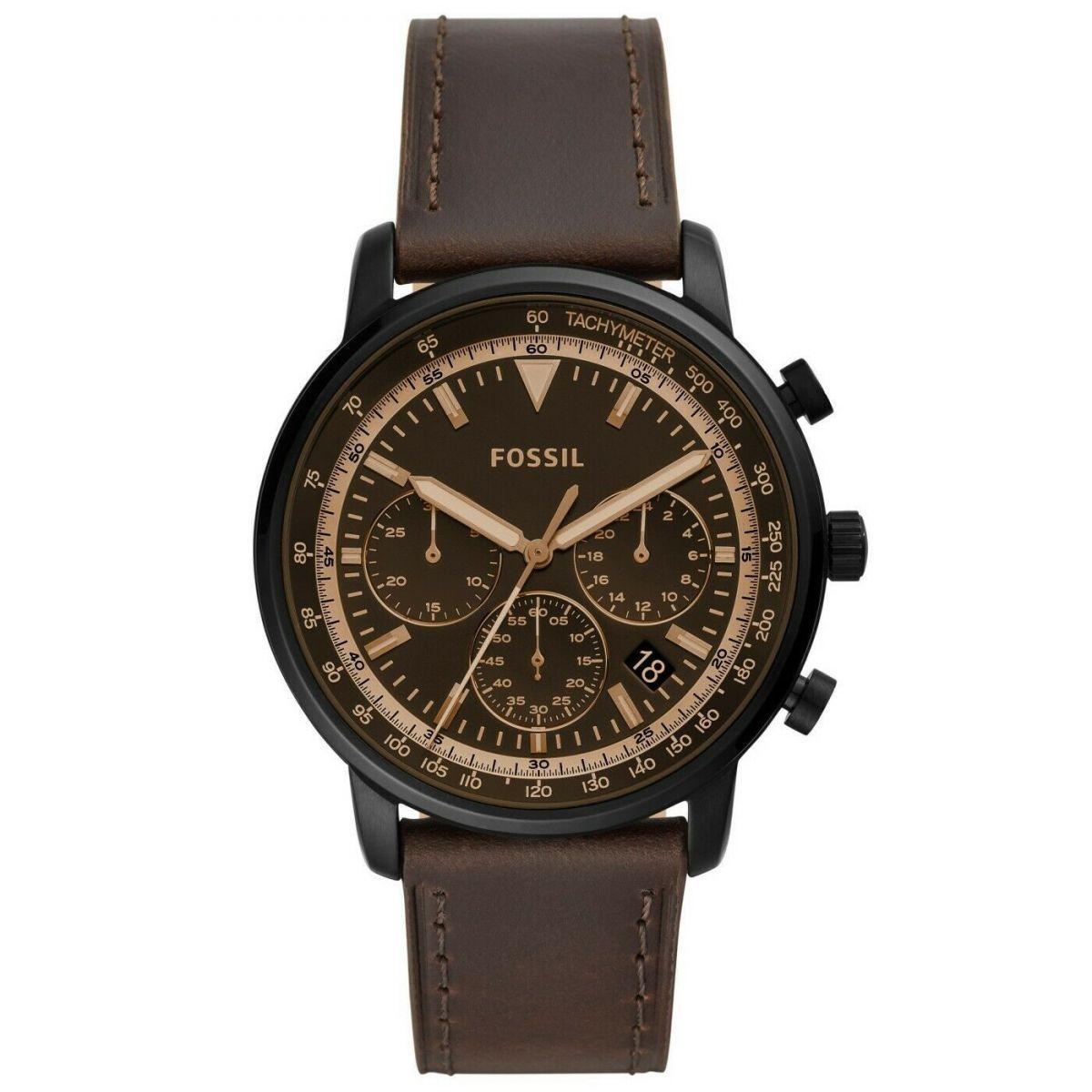 Orologio Cronografo Uomo Fossil Goodwin FS5529