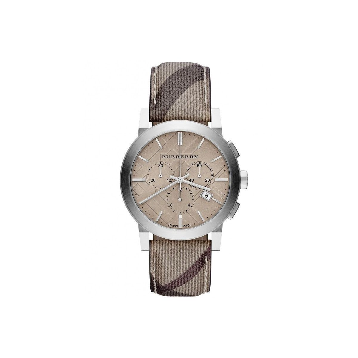Orologio Cronografo Uomo Burberry The City BU9361