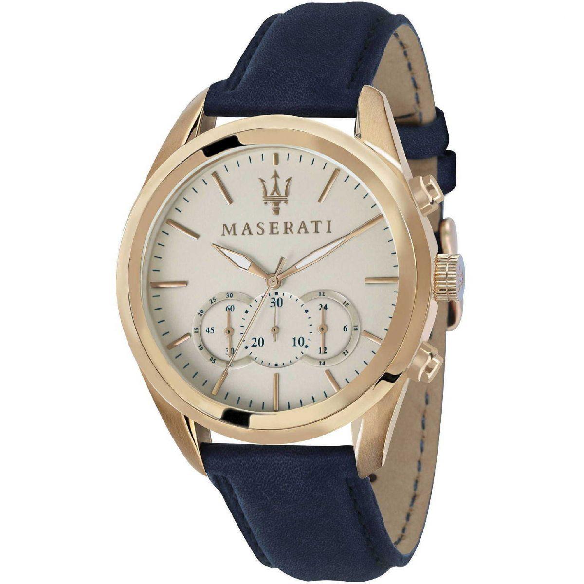 Orologio Cronografo Uomo Maserati Traguardo R8871612016