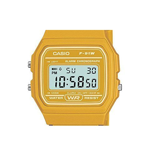 Orologio Digitale Uomo Casio Retro Vintage F-91WC-9AEF