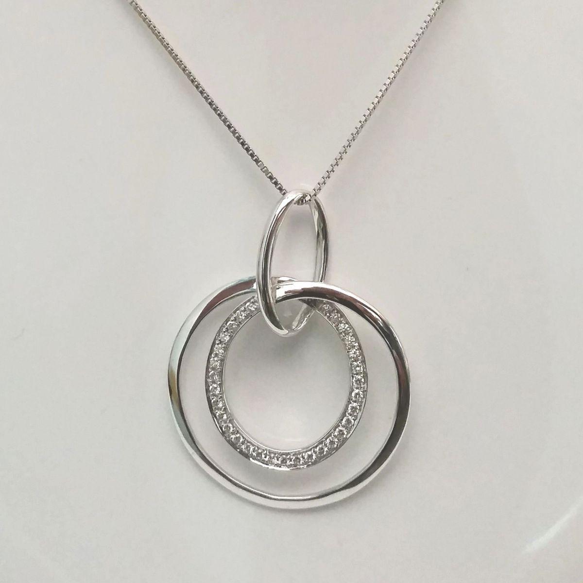 Collana Donna Oro in Oro e Diamanti DKP0307