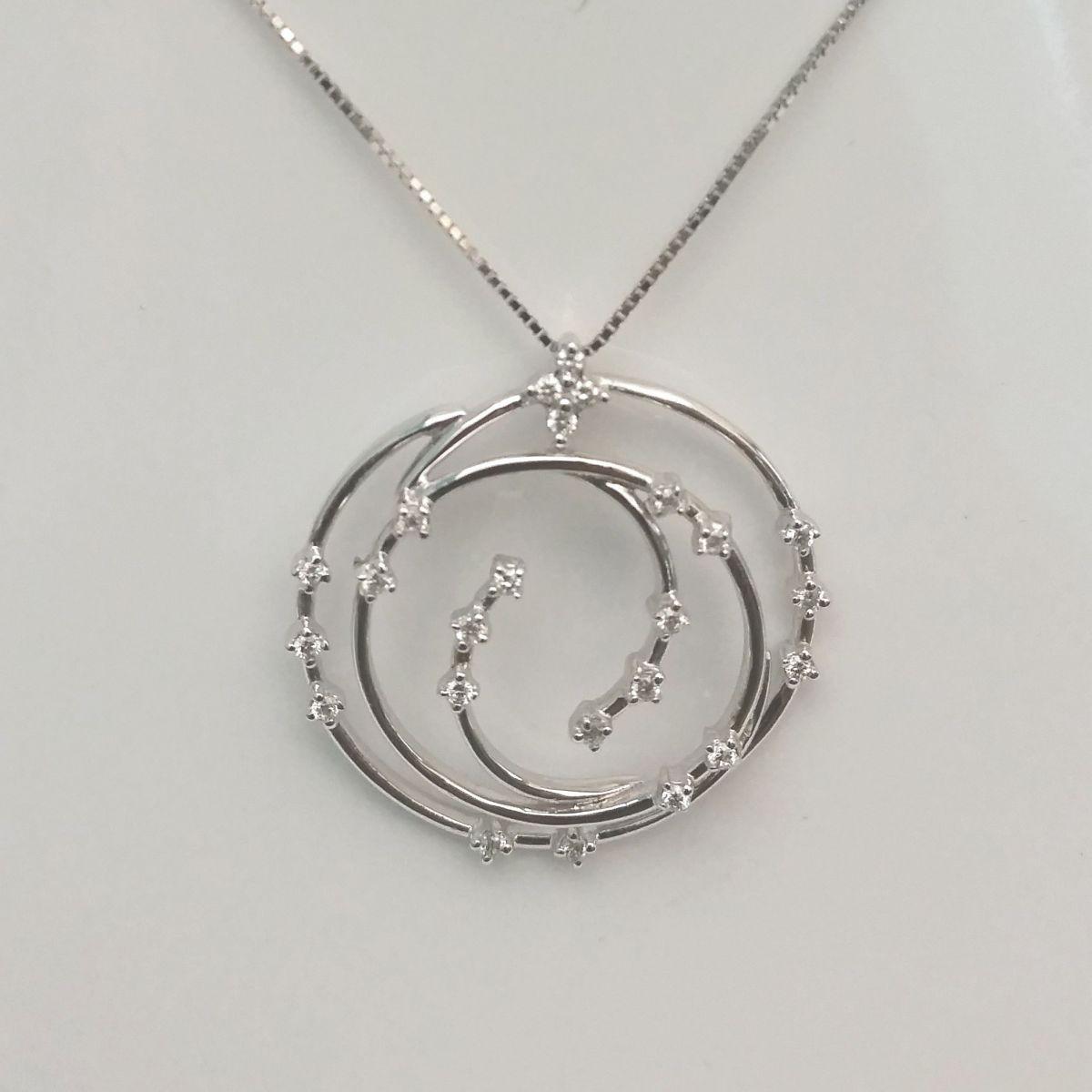 Collana Donna Oro in Oro e Diamanti KP4043