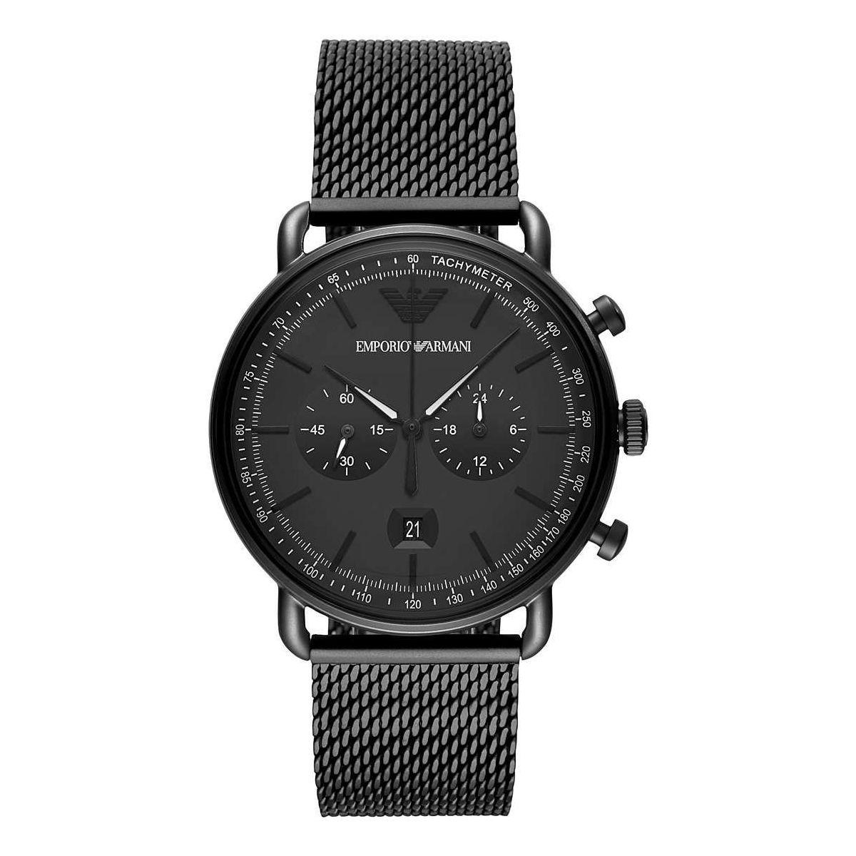 Orologio Cronografo Uomo Emporio Armani Aviator AR11264