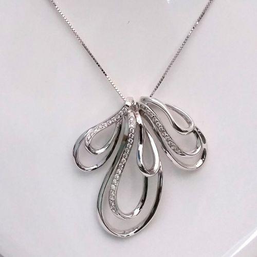 Collana Donna Oro in Oro e Diamanti KP3900