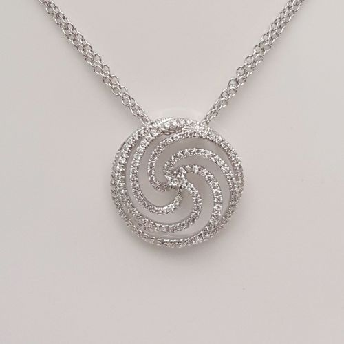 Collana Donna Oro in Oro e Diamanti DFPF0882.037