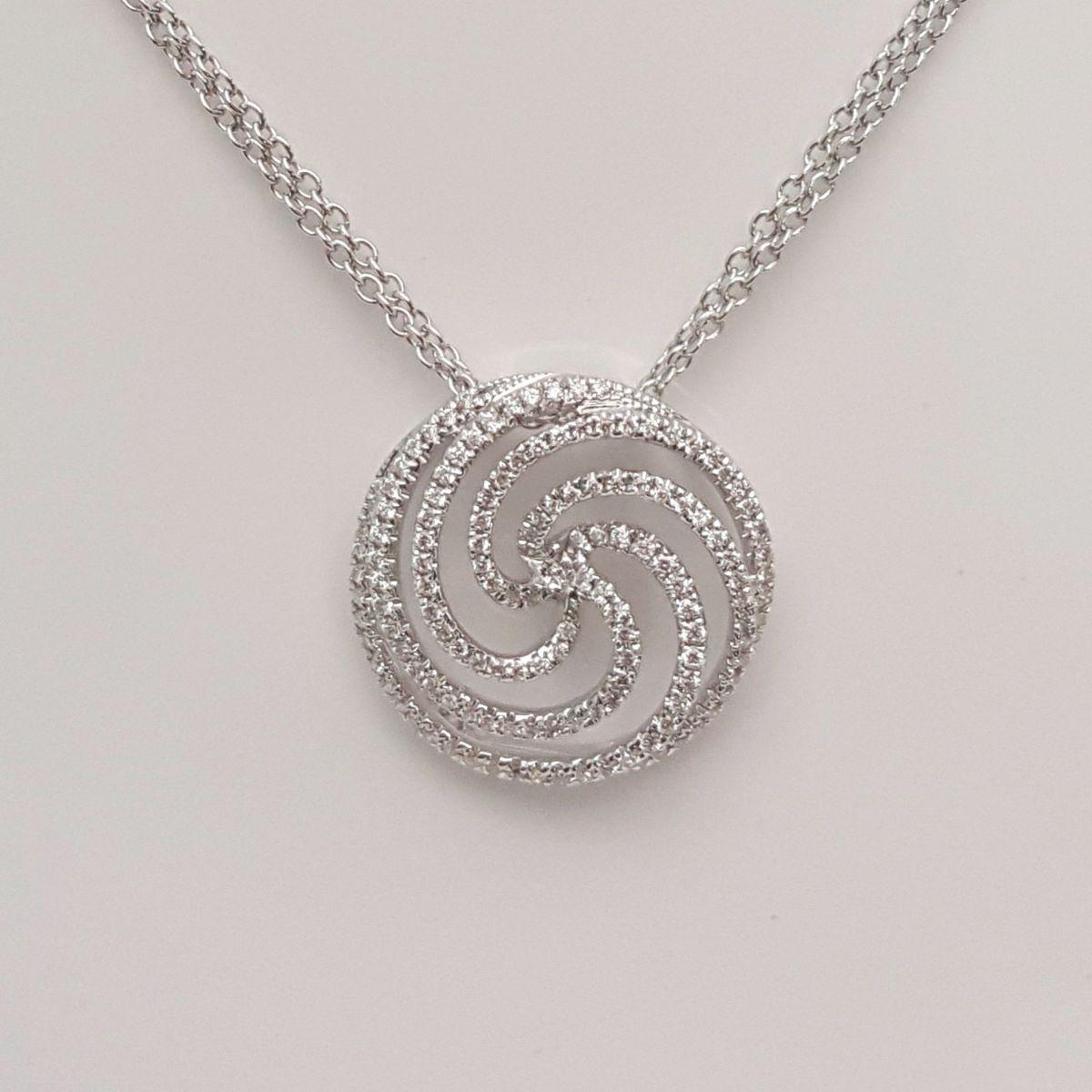 Collana Donna Oro in Oro e Diamanti DFPF0882.037