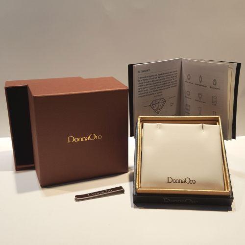 Collana Donna Oro in Oro Bianco e Diamanti DKP03544