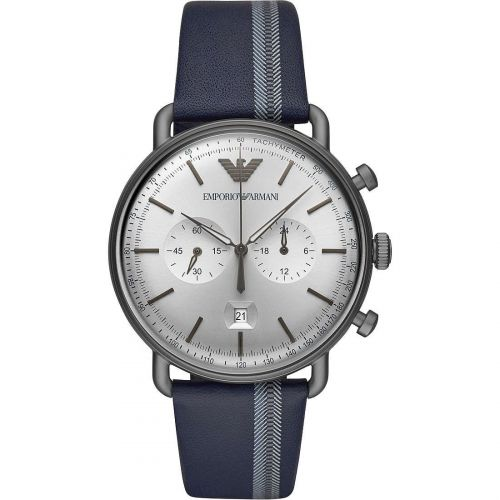 Orologio Cronografo Uomo Emporio Armani Aviator AR11202