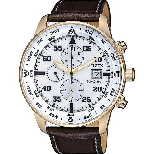 Orologio Cronografo Uomo Citizen Aviator CA0693-12A