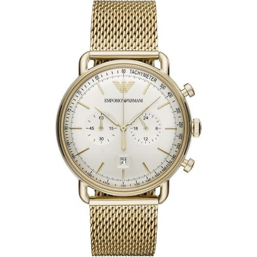 Orologio Cronografo Uomo Emporio Armani Aviator AR11315