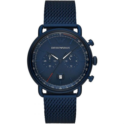 Orologio Cronografo Uomo Emporio Armani Aviator AR11289