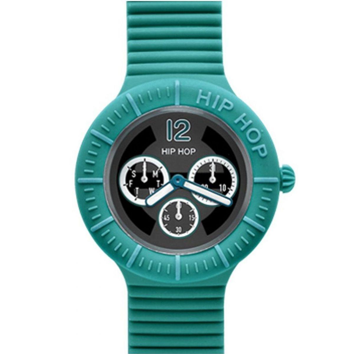 Orologio Hip Hop Sportsman Multifunzione HWU0178 da 42 mm Turchese