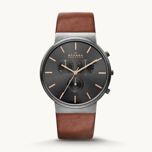 Orologio Cronografo Uomo Skagen Ancher SKW6106