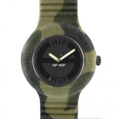 Orologio Hip Hop Camouflage HWU0365 con Cinturino Forest Camo da 42 mm