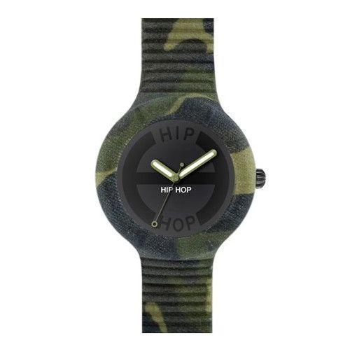 Orologio Hip Hop Camouflage HWU0364 con Cinturino Forest Camo