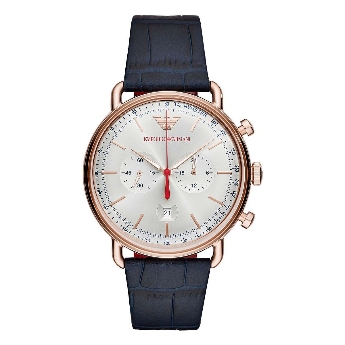 Orologio Cronografo Uomo Emporio Armani Aviator AR11123