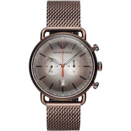 Orologio Cronografo Uomo Emporio Armani Aviator AR11169
