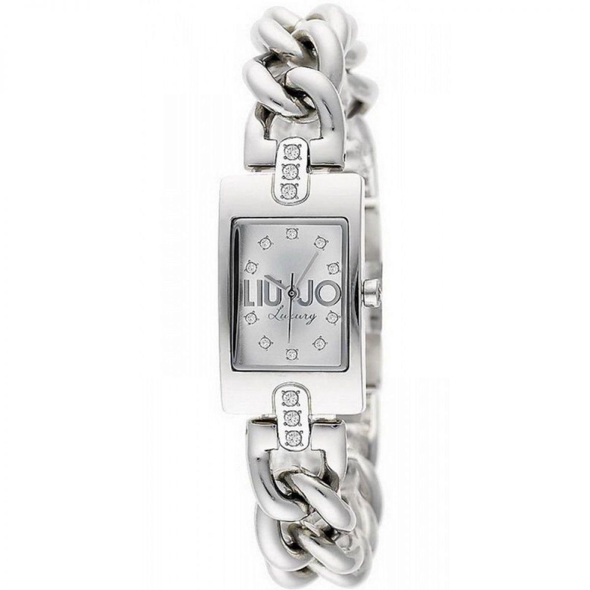Orologio Liu Jo Luxury Kira TLJ922 Rettangolare in Acciaio