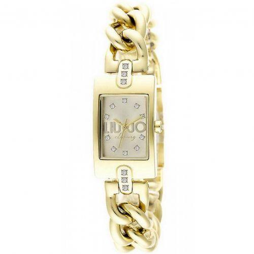 Orologio Liu Jo Luxury Kira TLJ923 Rettangolare in Acciaio IP Oro