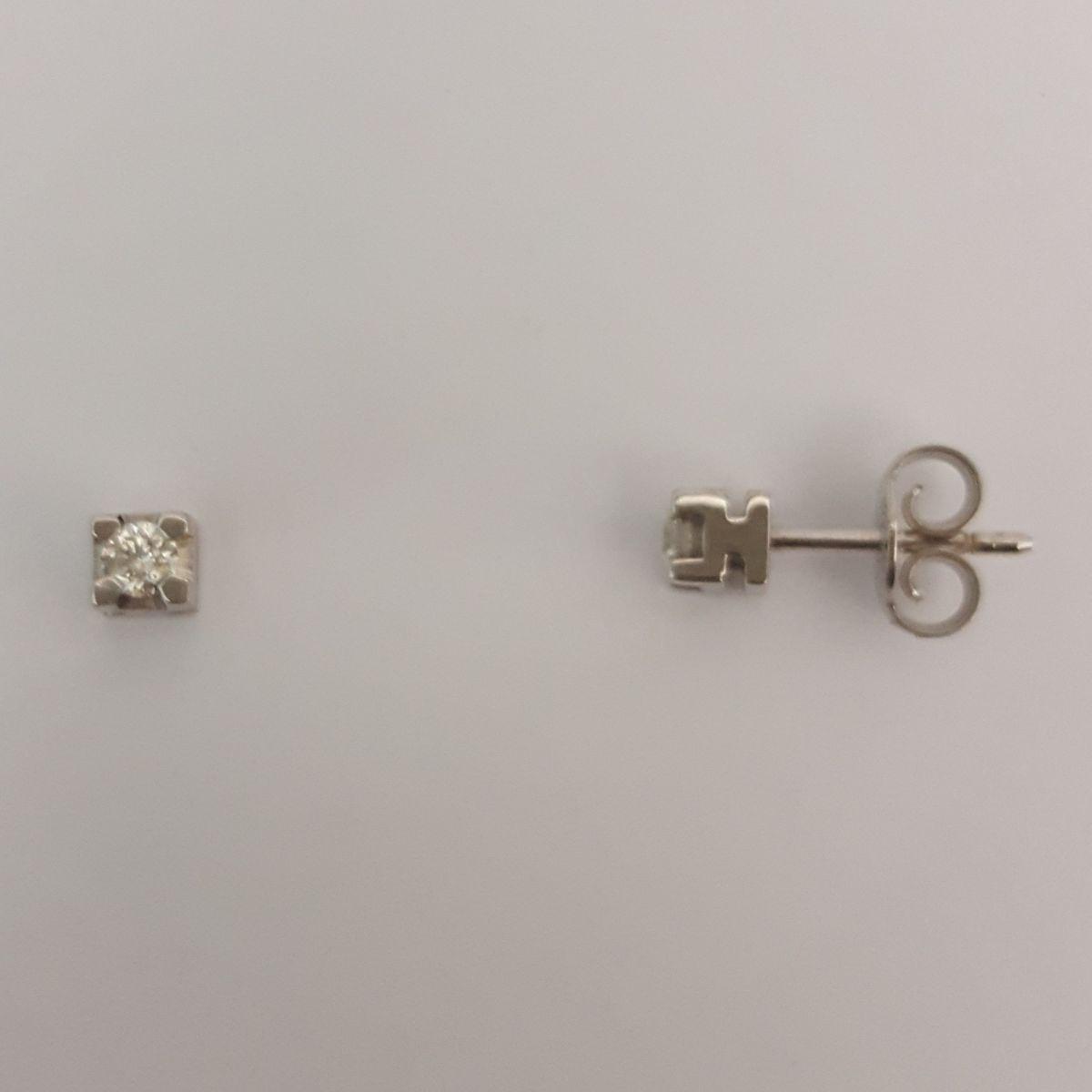 Orecchini Punto Luce Donna Oro DKOL0678.014 in Oro Bianco