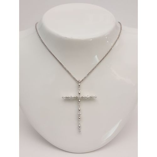 Collana Croce Donna Oro...