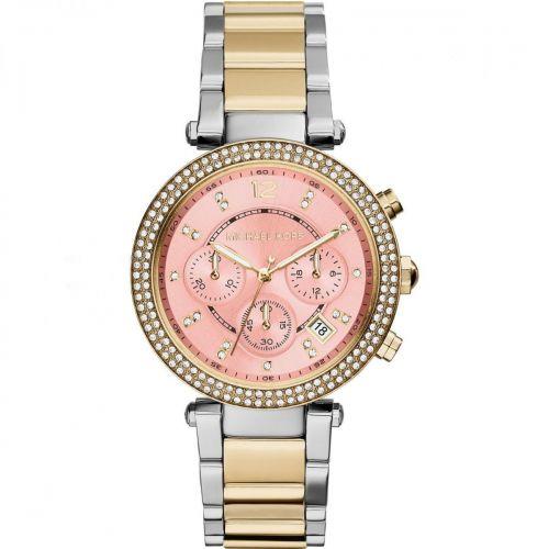 Orologio Cronografo Donna Michael Kors Parker MK6140