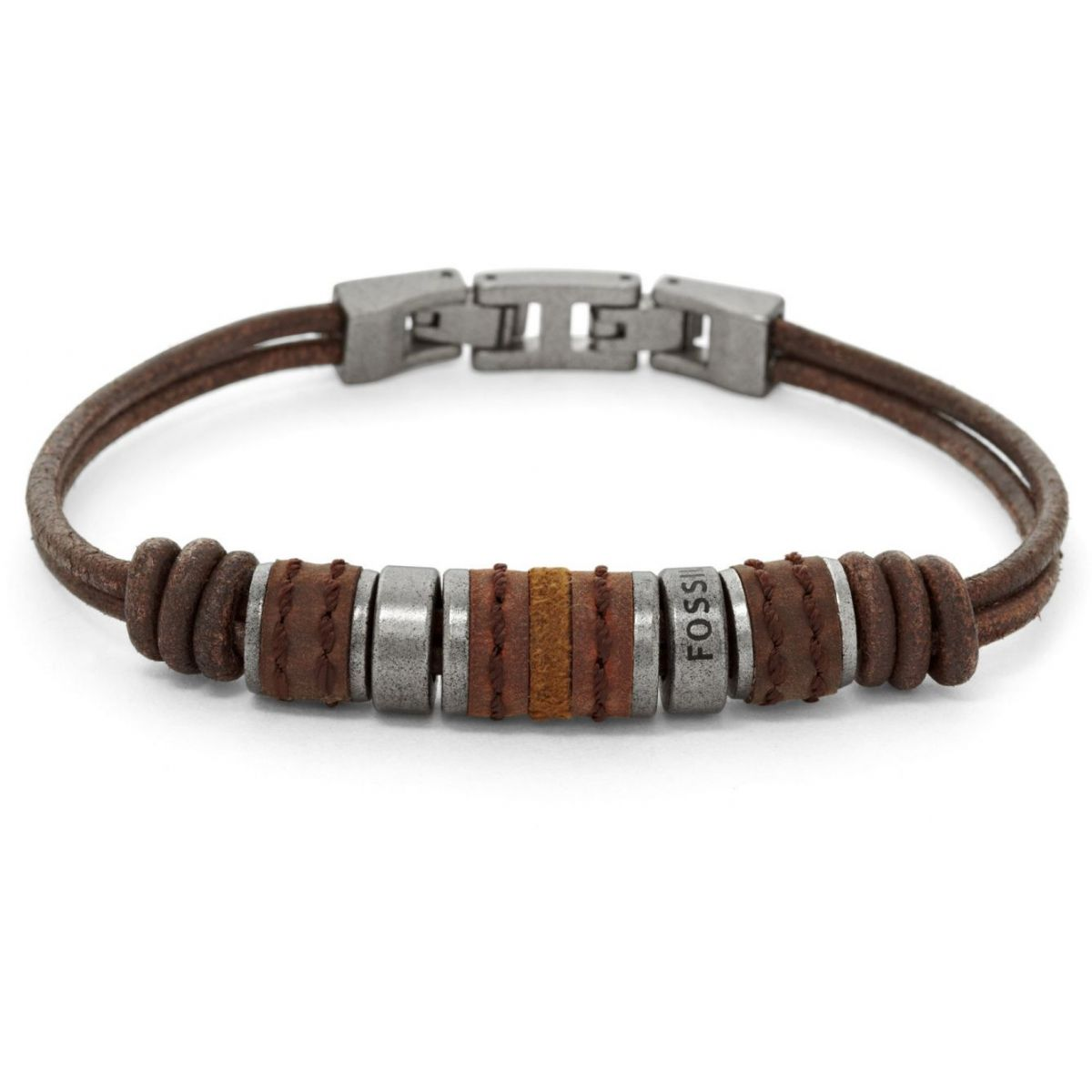 Bracciale Fossil Vintage JF00900797 in Cuoio