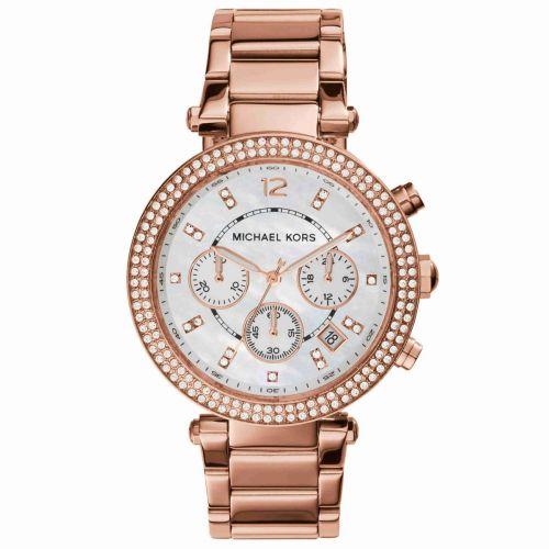 Orologio Cronografo Donna Michael Kors Parker MK5491