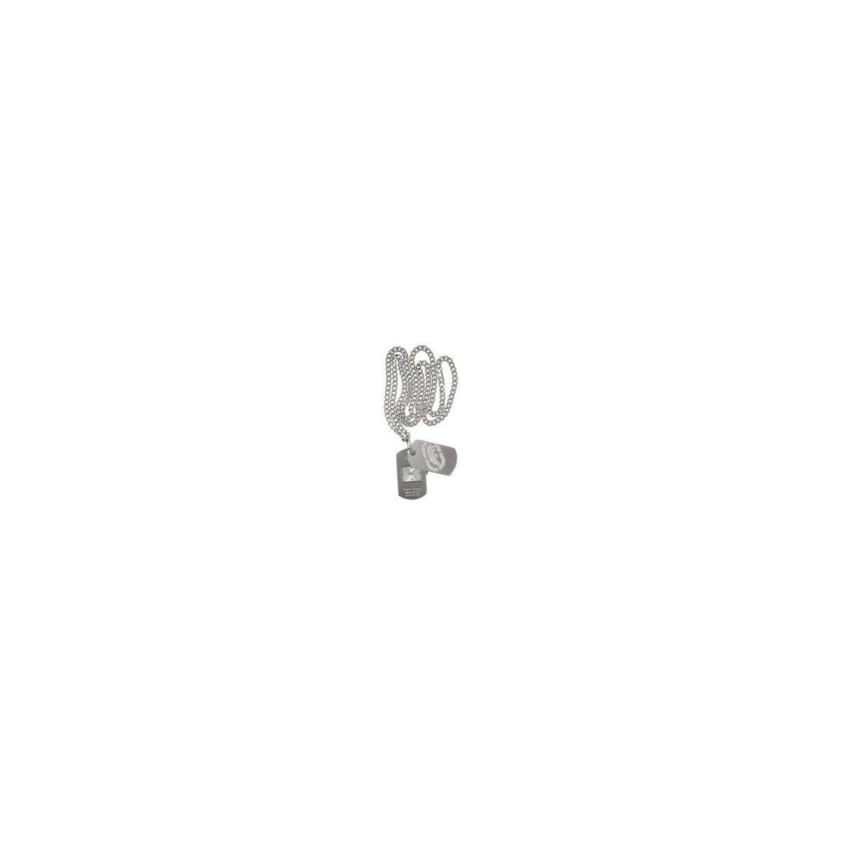 Orologio-collana tempo Marc Ecko Dog Tag E85010G1