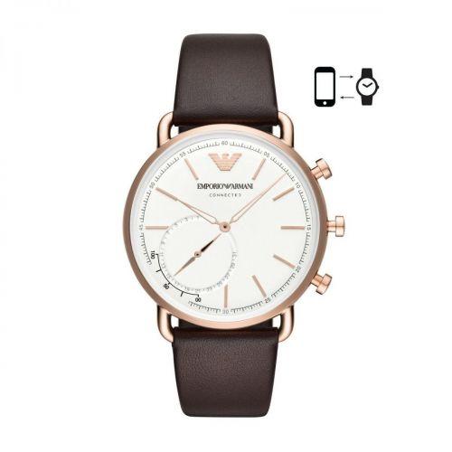 Orologio Smartwatch Uomo Emporio Armani Aviator ART3029