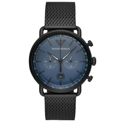 Orologio Cronografo Uomo Emporio Armani Aviator AR11201
