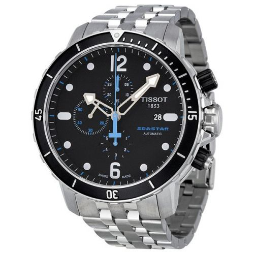 TISSOT MEN'S SEASTAR 1000 AUTOMATIC CHRONOGRAPH WATCH