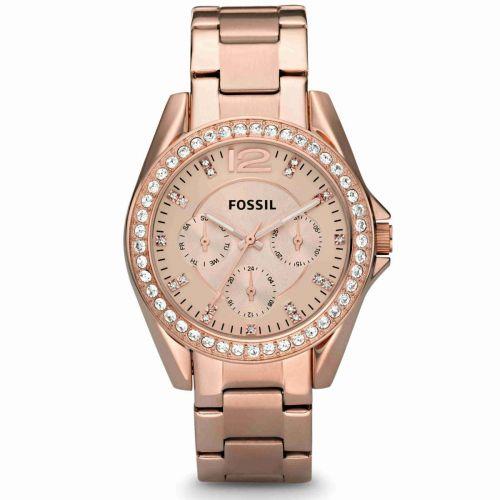 Orologio Multifunzione Donna Fossil Riley ES2811
