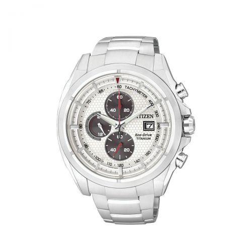 Orologio Cronografo Uomo Citizen Super Titanium CA0550-52A