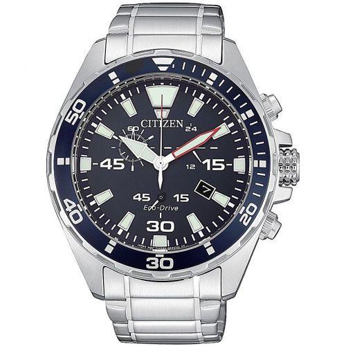 Orologio Cronografo Uomo Citizen Marine Sport AT2431-87L