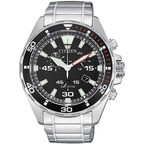 Orologio Cronografo Uomo Citizen Eco Drive AT2430-80E