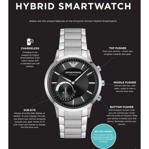 Smartwatch Ibrido Emporio Armani Connected ART3003