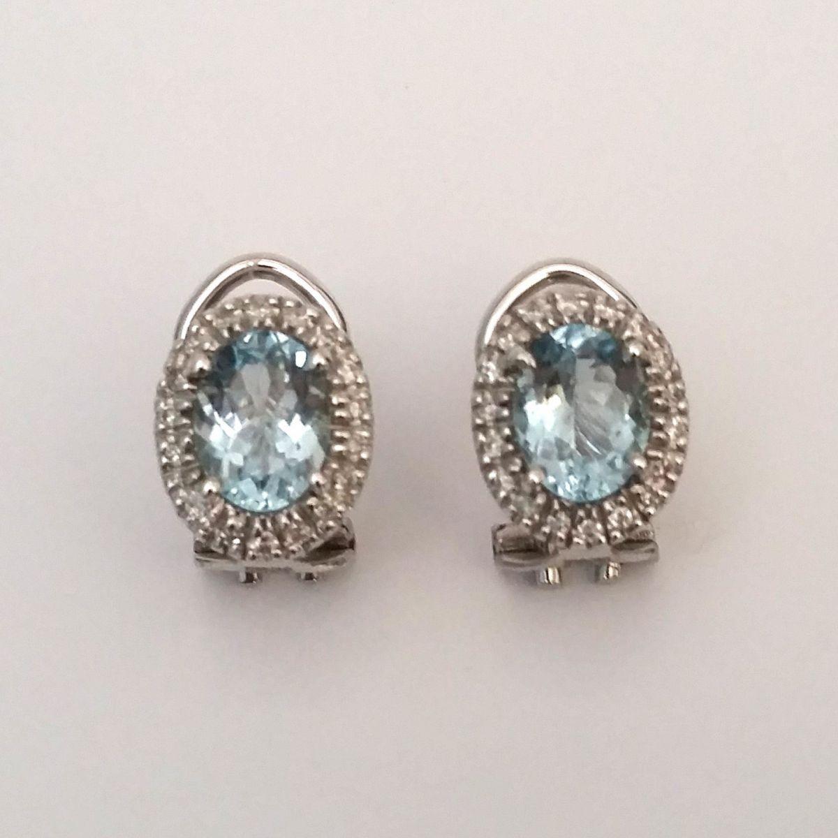 Orecchini Davite & Delucchi BB007749 11 in Oro Bianco con Diamanti