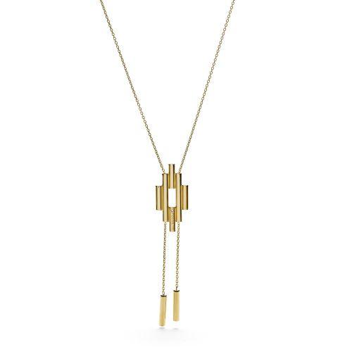 Collana Fossil Da Donna JF02650710 Fashion in Acciaio Oro