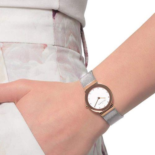 Orologio da Donna Skagen Freja 358SGSCD In Acciaio