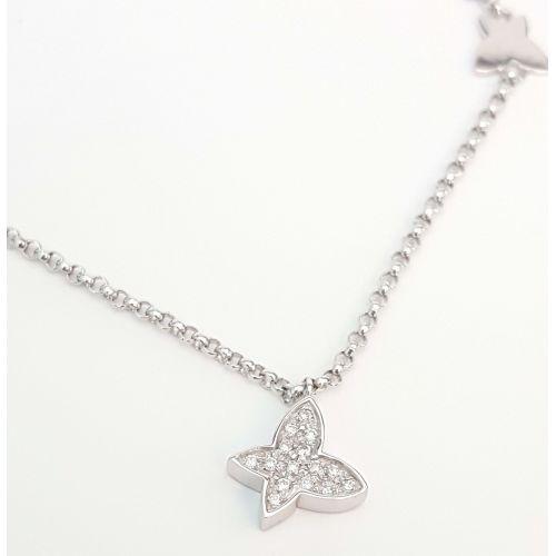 Bracciale DonnaOro DFBF3399.007 in Oro Bianco e Diamanti