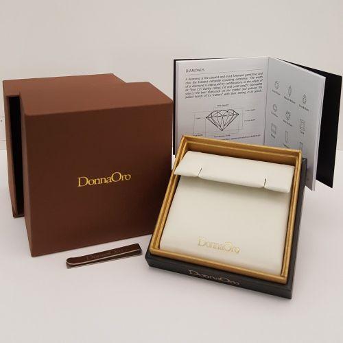 Orecchini DonnaOro DFOF2196.012 in Oro Bianco e Diamanti