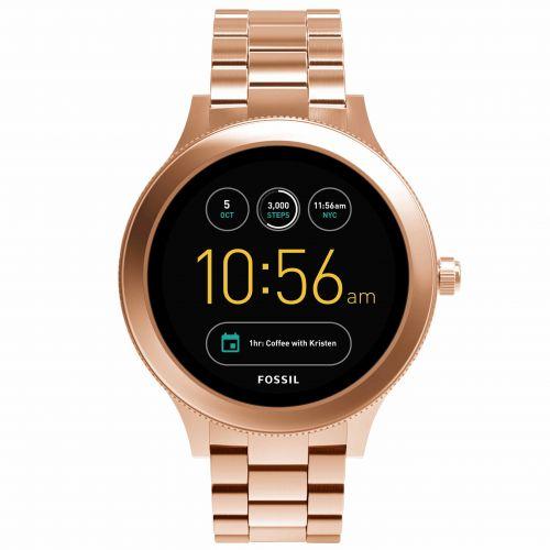 Smartwatch Fossil Q Venture FTW6000 da Donna in Acciaio Oro Rosa
