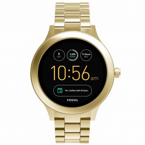 Smartwatch Fossil Q Venture FTW6006 da Donna in Acciaio Dorato