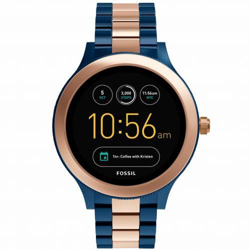 Smartwatch Fossil Q Venture FTW6002 da Donna in Acciaio Oro Rosa