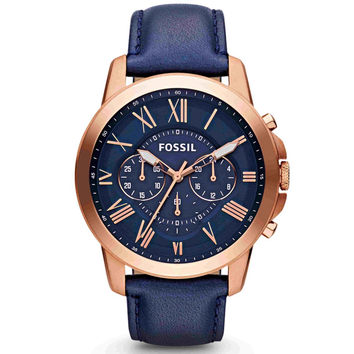 Orologio Fossil Grant FS4835 Cronografo Uomo