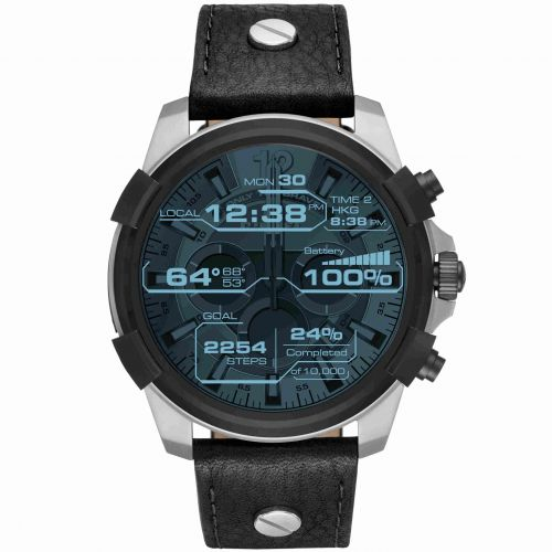 Smartwatch Diesel On Full Guard DZT2001 con Cinturino in Pelle