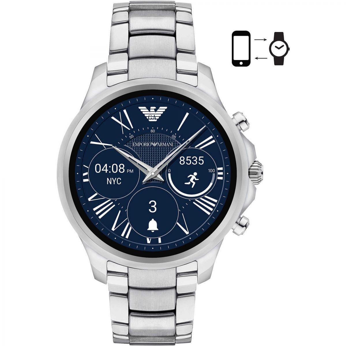 cc940faf48 Orologio Smartwatch Emporio Armani Connected ART5000 in Acciaio