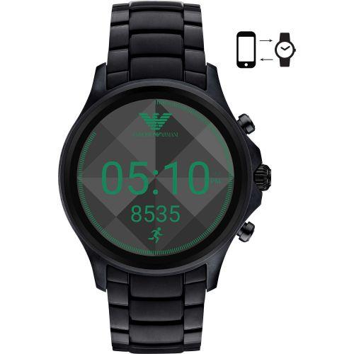 Orologio Smartwatch Emporio Armani Connected ART5002 in Acciaio Nero